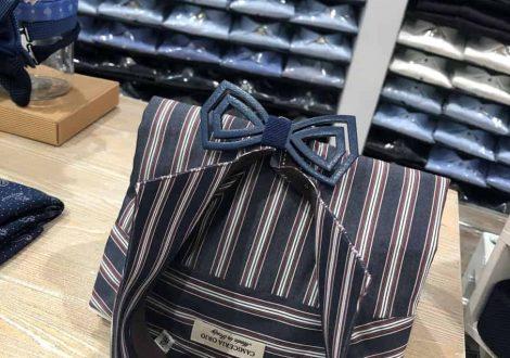 camicia blu a righe_novità primavera 2019